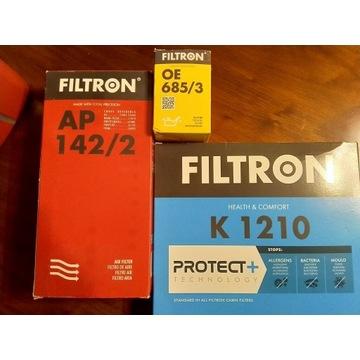 Zestaw filtrów 3szt. FILTRON TOYOTA YARIS P13 1.3
