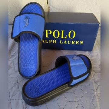 męskie klapki Polo Ralph Lauren Nowe rozm. 42