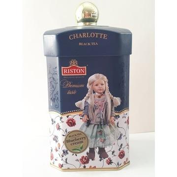 Herbata prem Charlotte Blueberry cream 100g jagoda