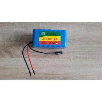 Akumulator li-ion 29.4V 28000mAh 7S3P 28Ah +ład