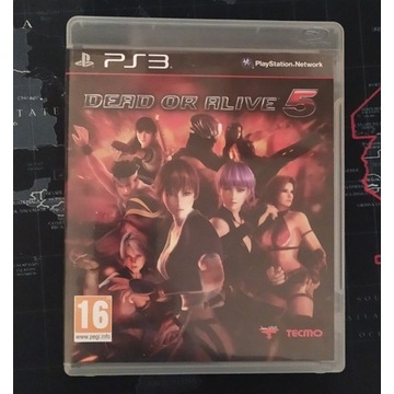 Gra Dead or Alive 5 - PS3 PlayStation 3 BOX