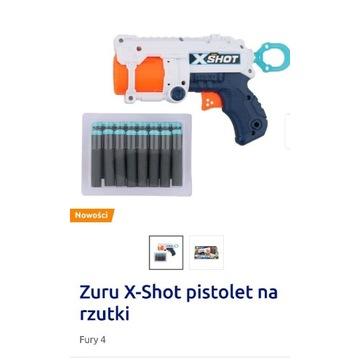 Zuru X-Shot pistolet na rzutki