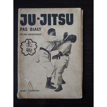Ju-Jitsu pas biały - Fr.Van Haesendonck