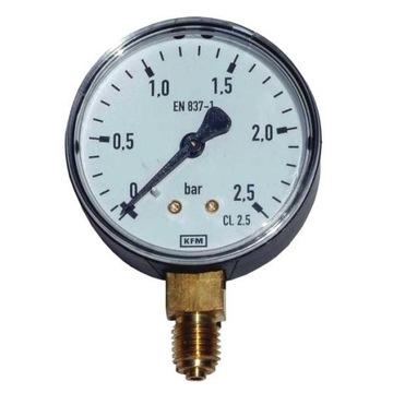 Manometr standard WIKA KFM typ 111.10 fi-63 2,5bar