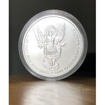 Archanioł Michał 2020, 1 oz Ag, srebro, Ukraina