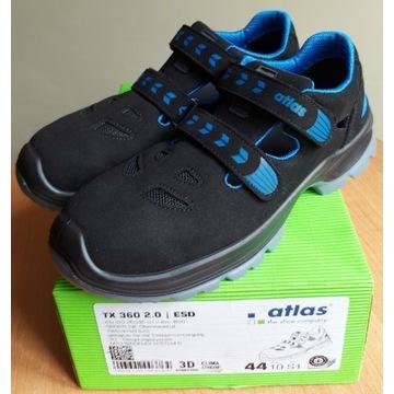 Buty robocze Atlas rozm.44 sandały bezpieczne.