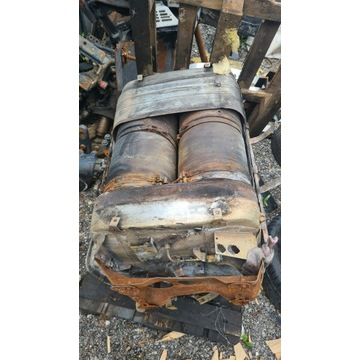 Katalizator mercedes Actros mp4 2015 rok spalony