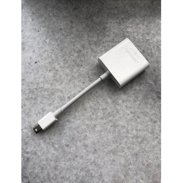 Apple adapter thunderbolt DVI przejściówka Macbook