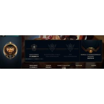Konto League of Legends EUNE + Valorant