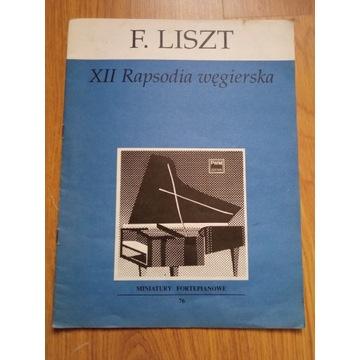 Błękitna Rapsodia na fortepian solo Gershwin nuty