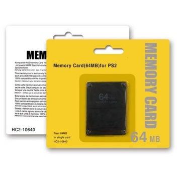 Memory Card 64MB Playstation 2 Karta Pamięci PS2