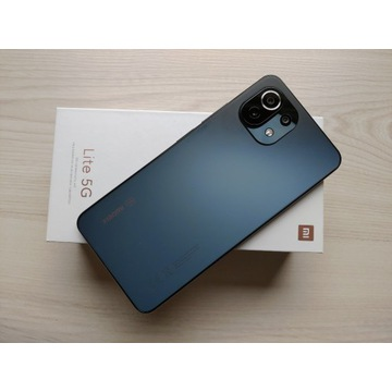 Xiaomi mi11 lite 5G 6/128 komplet jak Nowy