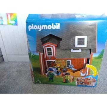 Playmobile 4142 przenośna stajnia