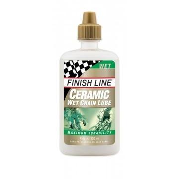 FINISH LINE Ceramic Wet Chain Lube 120ml łańcucha