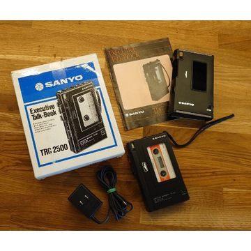 Dyktafon Walkman Sanyo TRC 2500 Full Metal Unikat