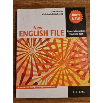New English File Upp-Intermediate Student's Book
