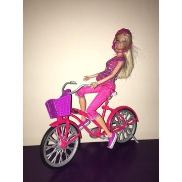 Zestaw Barbie - na rowerze