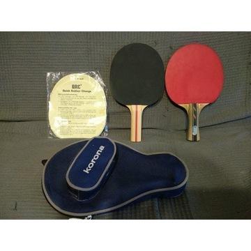 Rakietki do ping-ponga Donic + TecnoPRO + etui