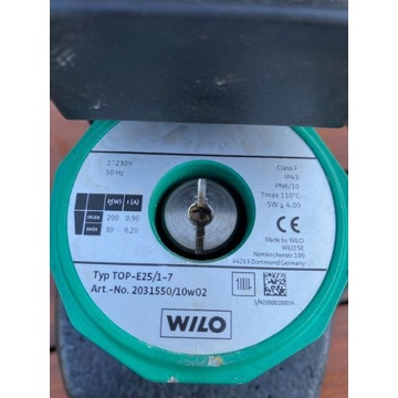 Pompa obiegowa WILO TOP-E25/1-7