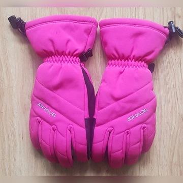 Johaug rękawice narciarskie 12-13 lat st. bdb