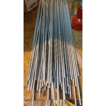 Pręt gwintowany M8 Ocynk 60cm 100szt + dostawa