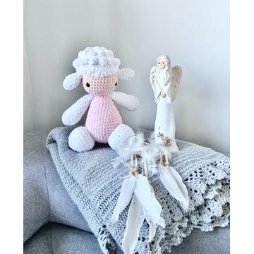 RĘKODZIEŁO prezent dla dzieci maskotka owieczka