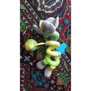 Zabawka słoń zawijany.