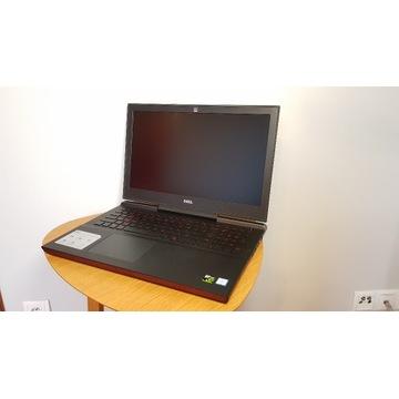 Laptop Dell Inspiron 7567 i7-7700HQ 8GBRAM GTX1050