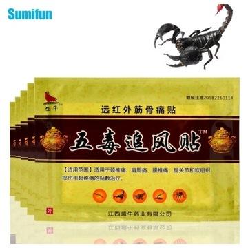 Przeciwbólowe plastry chińska medycyna naturalnz