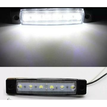 Oswietlenie listwy LED 2 szt. meble, samochód, bus