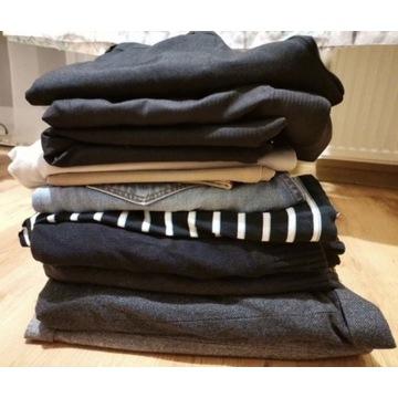 Paka zestaw ubrań męskich M/L 40 garnitury spodnie