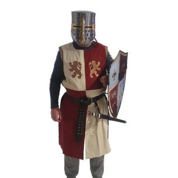 Struj przebranie rycerza Templariusza