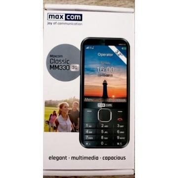 Klasyczny telefon Maxcom MM330 3G 5Mpix