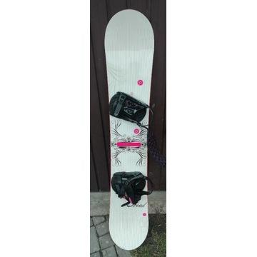 Deska snowboard 155