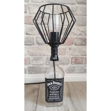 Lampka Jack Daniels 1 litr loft GRATIS edison