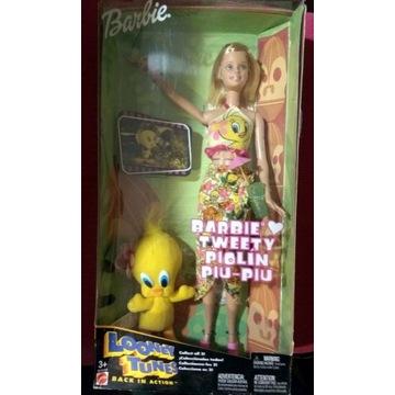 Barbie i Tweety - limitowana seria,  wyjątkowa