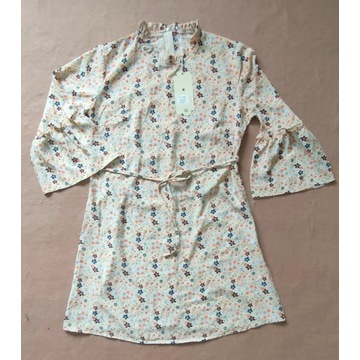 Azara Paris Sukienka z rozkloszowanymi rękawami L