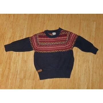 Sweterek Reserved rozmiar 74