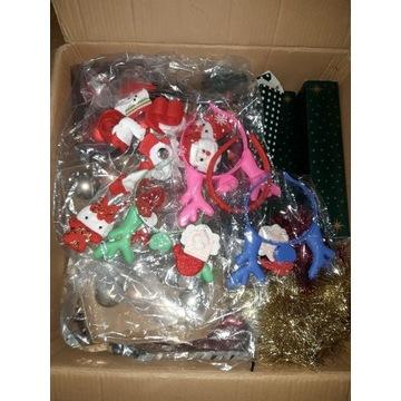Karton ozdób świątecznych