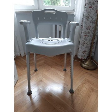 Etac Swift- krzesełko toaletowe wielofunkcyjne