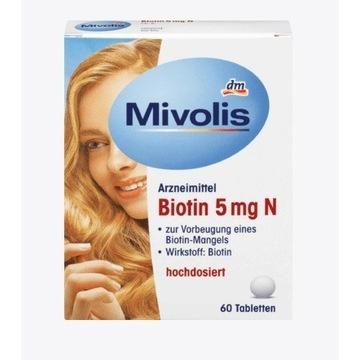 MIVOLIS BIOTYNA 5 mg 60szt suplement diety