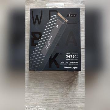 WD Black SN750 M2 PCIe NVMe 1TB RADIATOR Heatsink