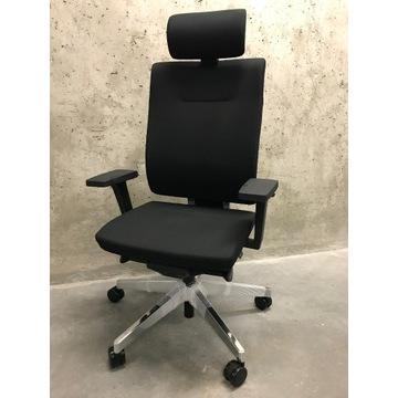 NOWY Fotel biurowy ProfiM Xenon 11SFL CHROM lędźwi