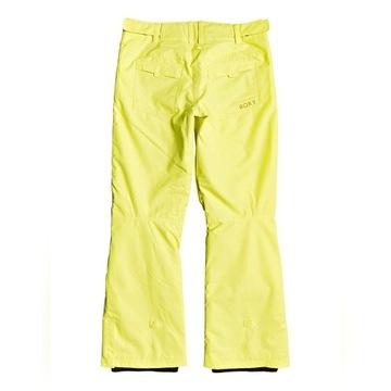 Spodnie Roxy ERJTPO3104 YFK0 żółte S M