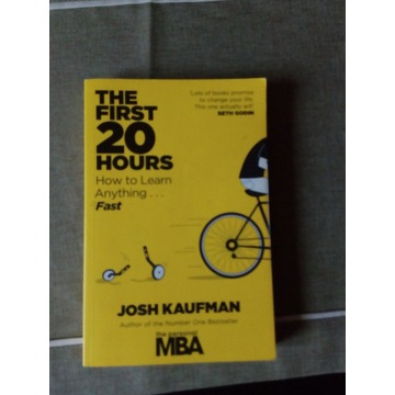 Josh Kaufman- 20 hours, how to learn anything fast
