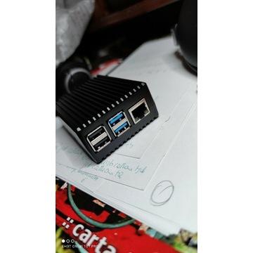 Raspberry Pi 4 B 4GB w obudowie Pasywne Chłodzenie