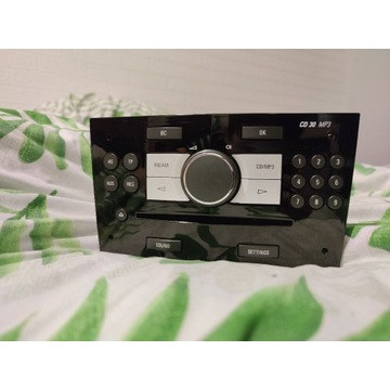 Radio Opel CD30 MP3 AUX Piano Black Astra Zafira