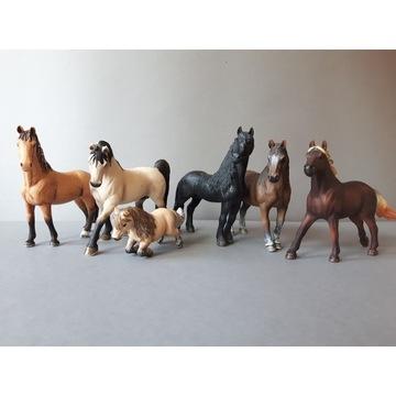 Schleich figurki konie