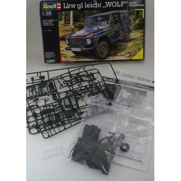 "Lkw gl leicht ""Wolf"" (Revell 03277) - złom!"