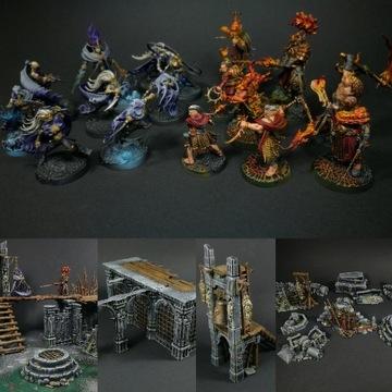 Warhammer Warcry Catacombs pomalowane